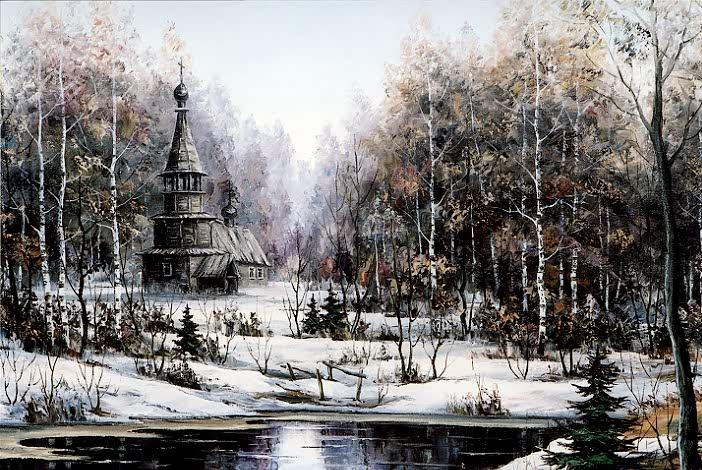 Lac Svetloïar, Russie7