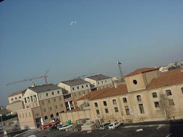 UFO - OVNI Sobre Italy (ES AUTENTICA) 2001