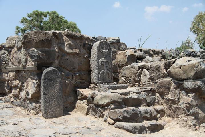 ruines de bethsaida-E-Tell site 2011