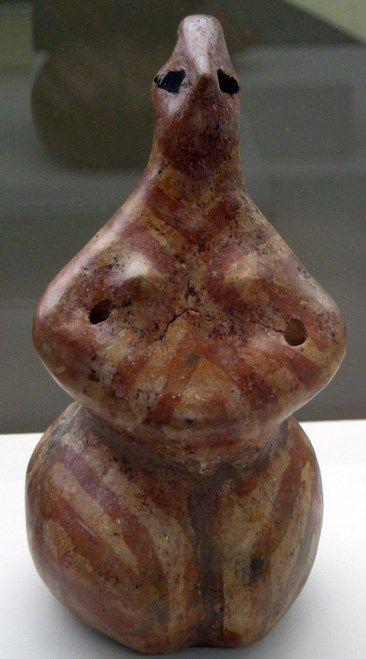 6000 5000 avant jc statuette en terre cuite hacilar hoyuk burdur anatolie occidentale