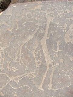 Arabie saoudite petroglyphe mini