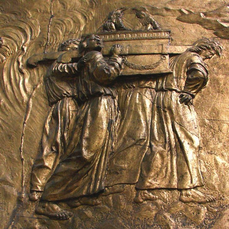Ark of the covenant relief