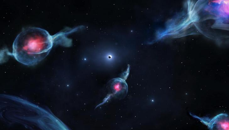 Astronomy groupeg reconstitutionart
