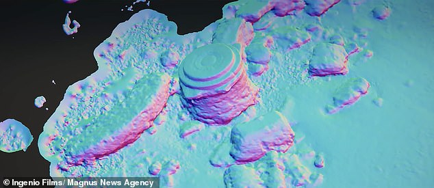 Atlantis tartessos radarsousplage fondations