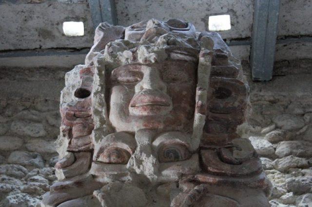 Balamku fresque de la structure i