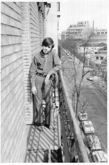 Balcon paris yvesh annees1970a