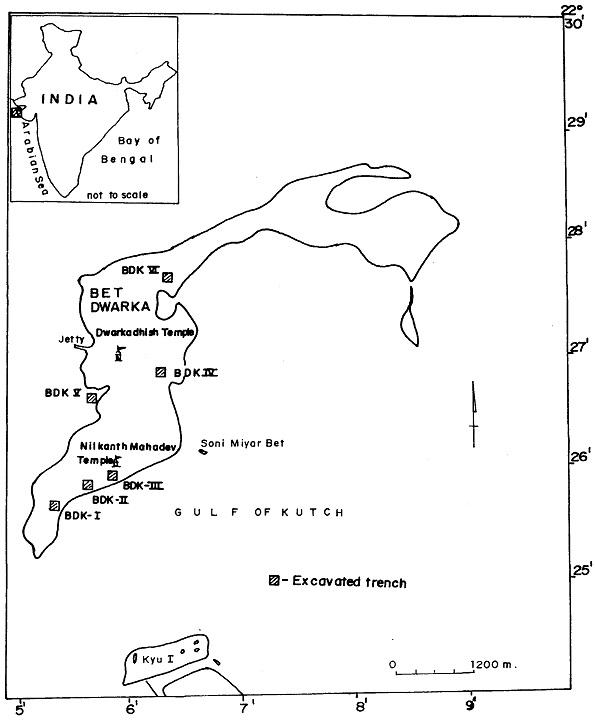 Betdwarka excav