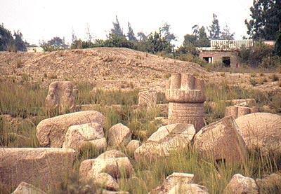 Bubastis ruines wikimazigh