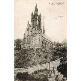 val d oise 95 montmorency eglise saint martin