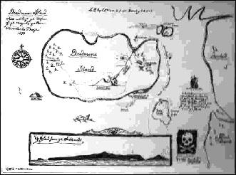 Carte Au Tresor Nom Anglais.Le Tresor Du Capitaine Kidd Les Indices Se Multiplient