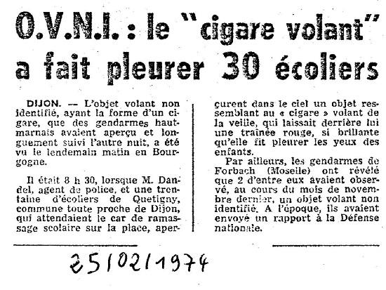 Cigare quetigny dijon 02 1974