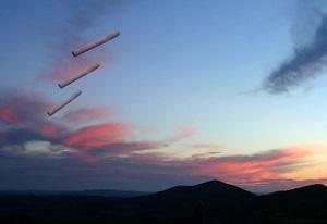 Cigarufo formation over texas mini