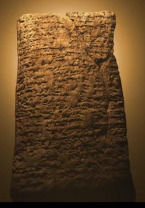 Cuneiforme deluge sumer3700avjc