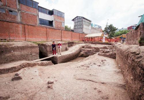 Cusco fouilles