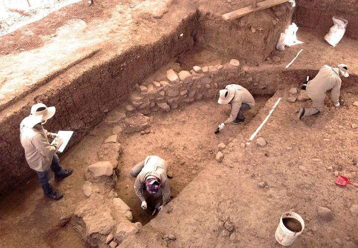 Cusco fouilles1