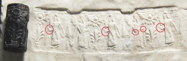 Cylindre assyrien 2