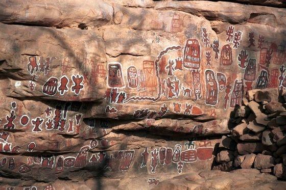 Dogons petroglyphes1 1