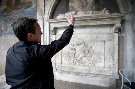 Dracula story real vampires daughter and tomb found in naples stone5