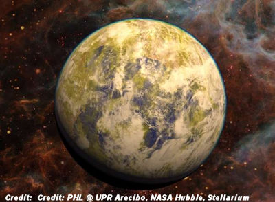 Earth like planet found in nearby star system