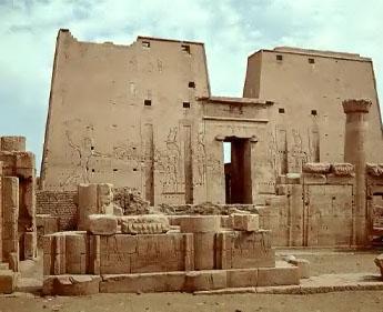 Edfou haute egypte temple d horus