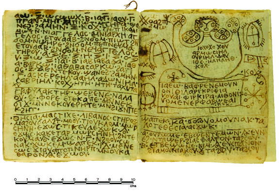 Egyptian codex baktiotha