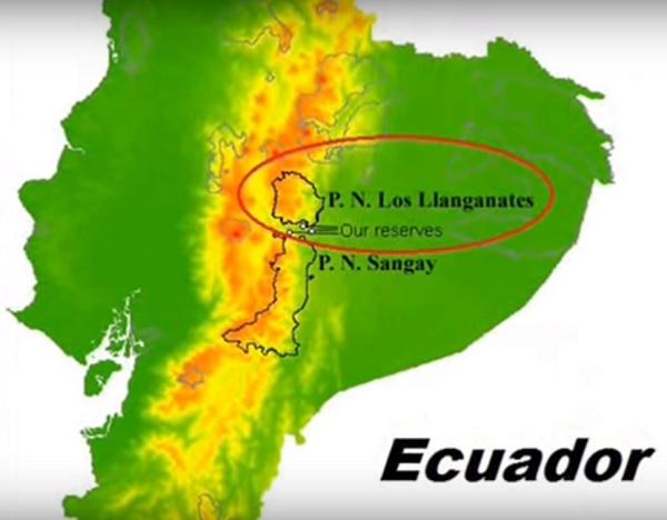 Equateur parcllanganates