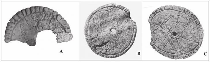 Figure 9 rondelles perforees avec bourrelet peripherique crante a la vina asturies