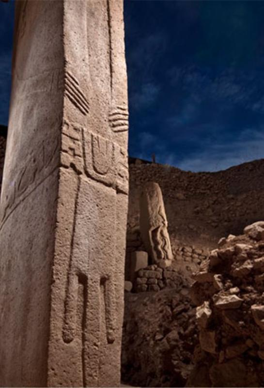 Gobeklitepe statue pilier 1