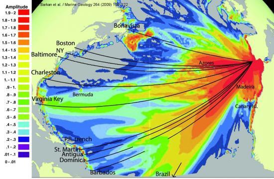 Golf cadix west tsunami