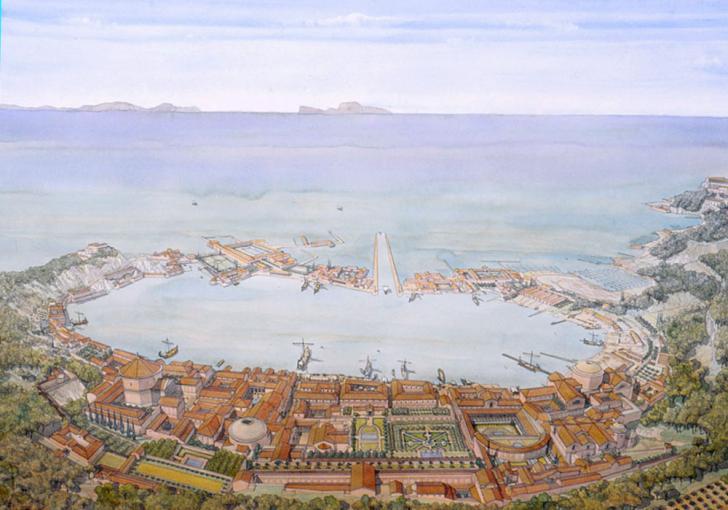 Greco romain baiae baies