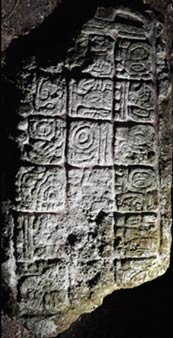 Hieroglyphic inscription