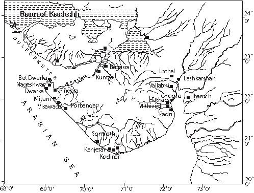 Inde ports antiques coteouest