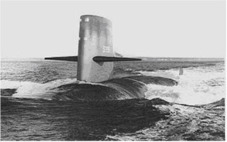 Le sous marin nucleaire uss scorpion
