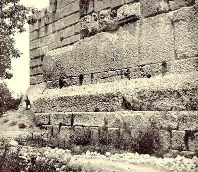 Liban baalbek trilithons