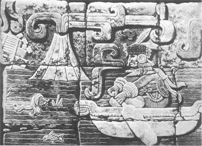 Maya volcan deltoton atlantis