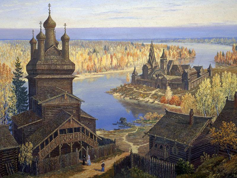 Mikhail nesterov ville de kitej