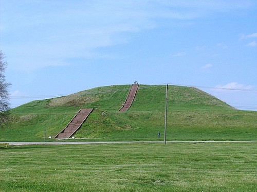 Monks mound illinois usa