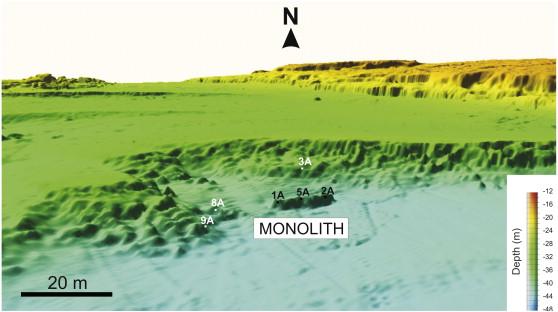 Monolith map profondeur