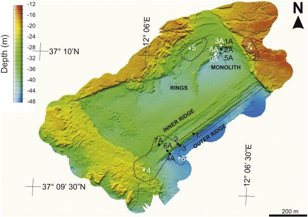 Monolith sur carte