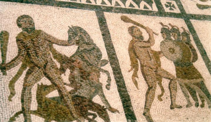 Mosaiquesromaines hercule