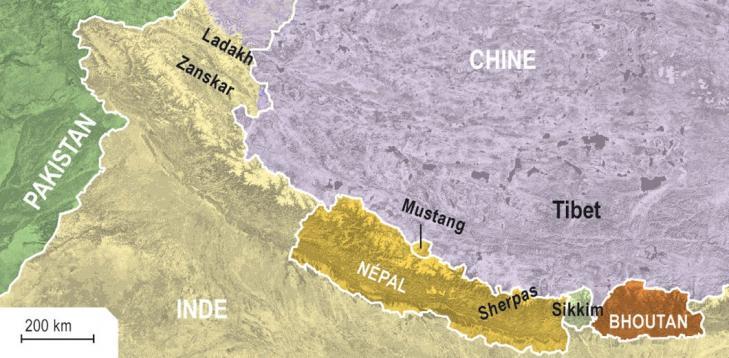 Mustang nepal himalayaregion