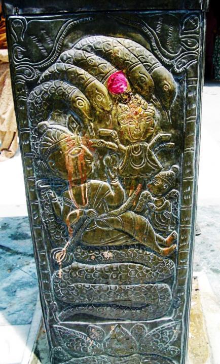 Nagas on copper pillar kullu