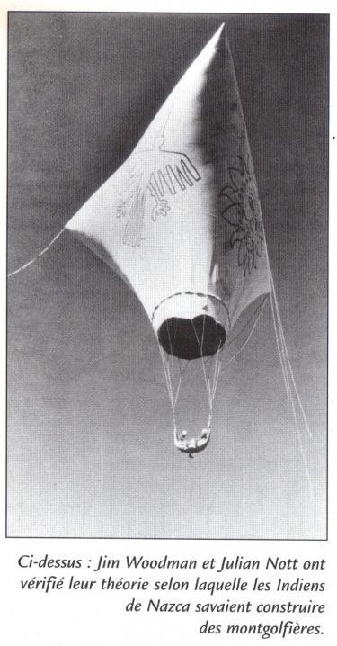 Nasca mongolfiere