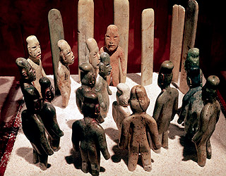 Olmecfigurines