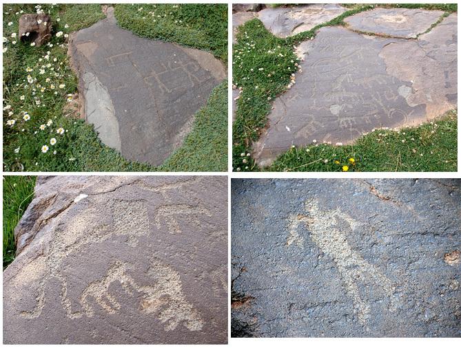 Ouktassar petroglyphes armenie