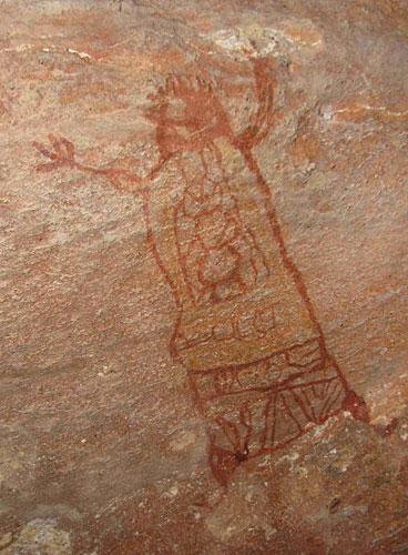 Peinture pedra furada