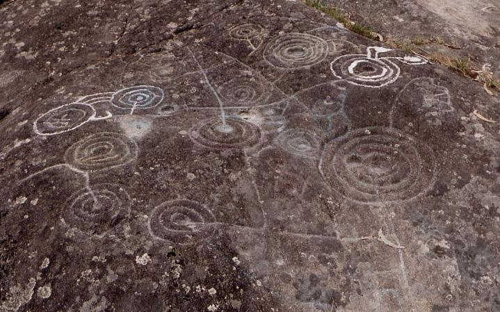 Petroglyphe galice espagne