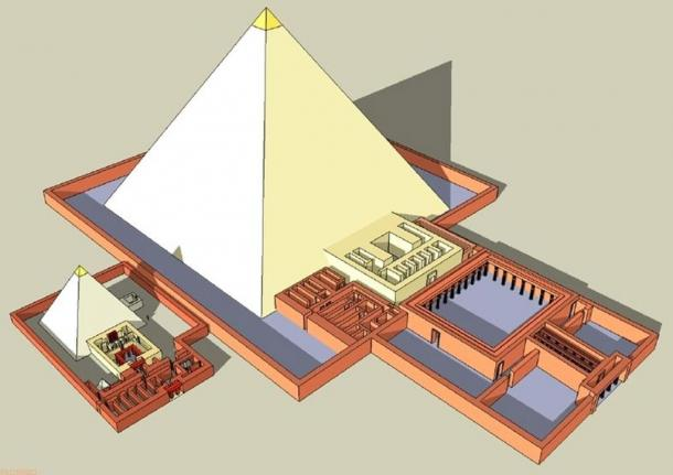 Pyramid complex of khentkaus ii