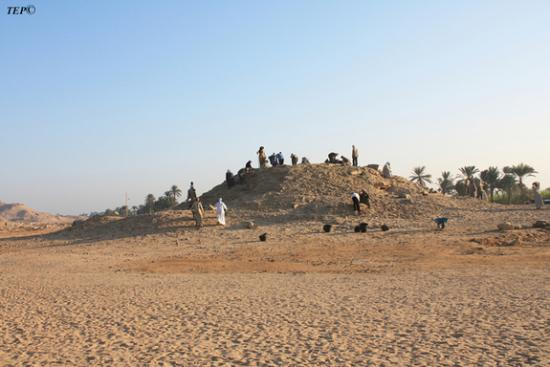 Pyramide sable