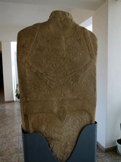 Roumanie histria museum neolithic menhirs